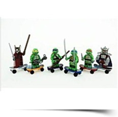 Discount Custom Set Teenage Mutant Ninja Turtles