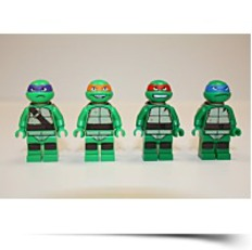 New Teenage Mutant Ninja Turtle 4 Pack