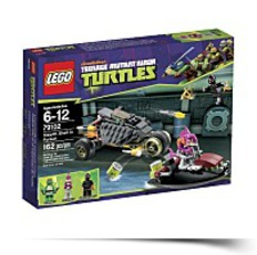 Ninja Turtles Stealth Shell In Pursuit