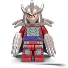 Tmnt Shredder Minifigure Teenage