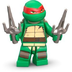 lego teenage mutant ninja turtles raphael