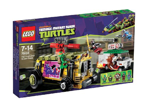 Lego ® Turtles Shellraiser Street Chase Playset - 79104 .